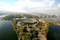 Красноярск остров Отдыха