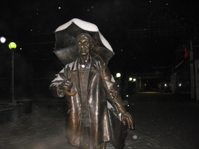 памятник Поздееву в красноярске