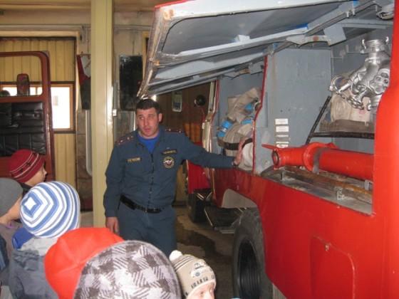 Экскурсия в пожарную часть Красноярск