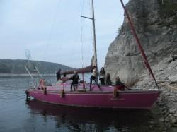 Прогулка на яхте по Красноярскому морю