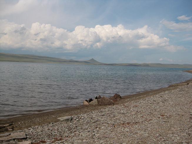 Озеро Беле Хакасия
