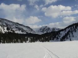 Снегоходный тур Каракольские озера
