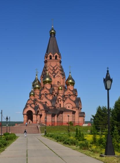 Храм в Лесосибирске