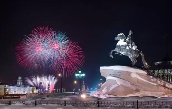 Новогодние каникулы в Петербурге