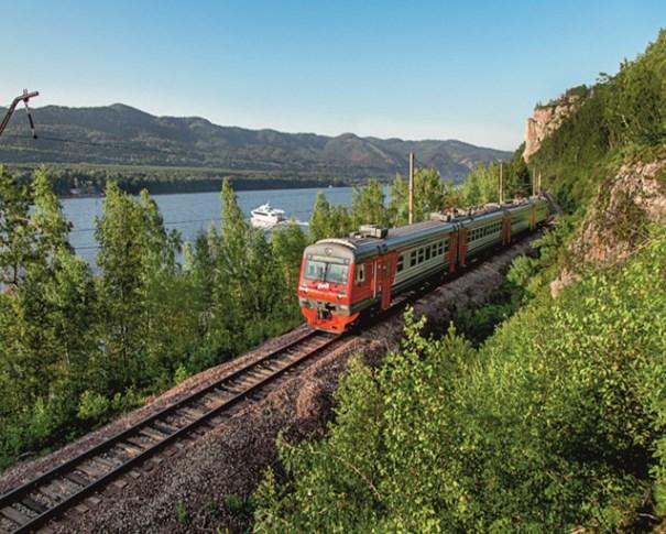 Экскурсионный поезд в Дивногорск