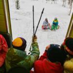 Семейные каникулы в горах в Приисковом