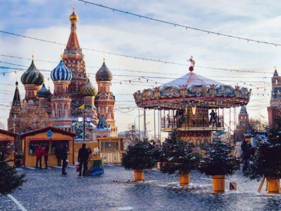 Новогодние экскурсии для детей в Москве