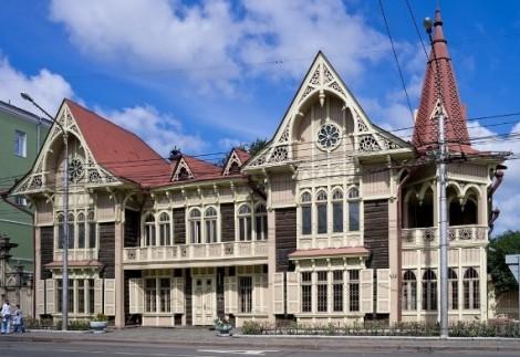 Литературный музей  им. В.П. Астафьева в Красноярске