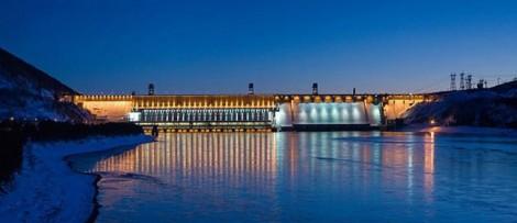 Экскурсия на Красноярскую ГЭС